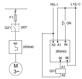 Рекомендованная схема запуска взрывозащищенного электродвигателя c пускателем