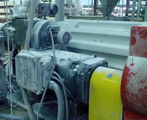 Электродвигатель Baumuller - модернизация экструдеров