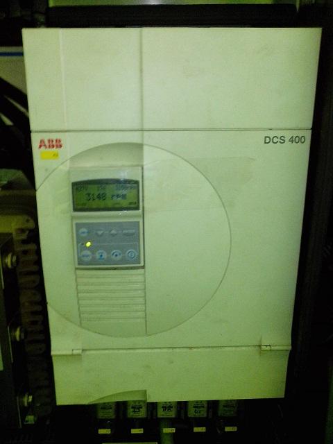 Электропривод постоянного тока ABB DCS402.0350 для куттера K+G Wetter