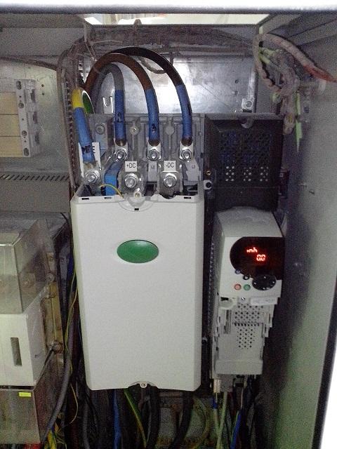 Преобразователь частоты Emerson Unidrive SP4403 55кВт