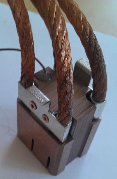 Бронзографитовые щетки для волочильной машины Niehoff