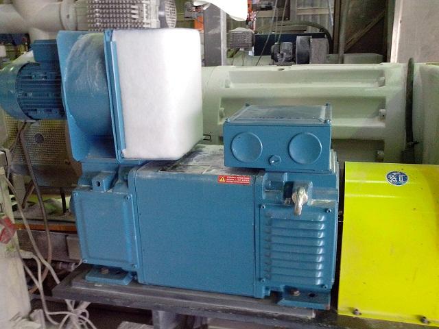 Асинхронный электродвигатель T-T Electric AMP160-4C - модернизация электропривода экструдера