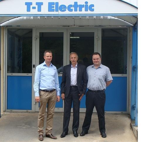 Развитие партнерских отношений с производителем электродвигателей  T-T Electric