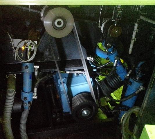 Электродвигатель постоянного тока куттера K+G Wetter