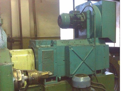 Электропривод экструдера на основе электродвигателя TES серии S250M