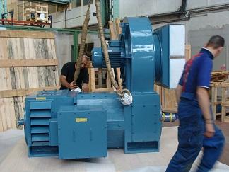 Испытания и приемка электродвигателя постоянного тока T-T Electric LAKC6400C