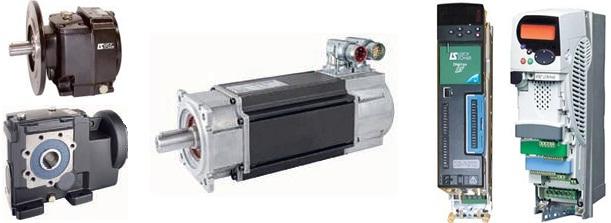 Комплектный сервопривод Emerson (Leroy Somer) - серворедукторы Dynabloc, серводвигатели Unimotor FM/HD, сервоприводы Digitax ST, Unidrive SP