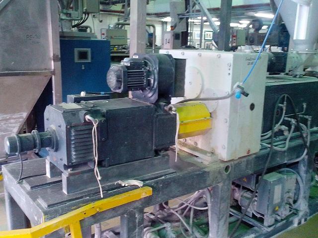 Электродвигатель постоянного тока экструдера Cincinnati Extrusion Argos 60