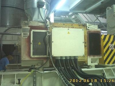 Родной электродвигатель постоянного тока экструдера DMT
